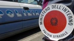 Polizia Stradale - posto di blocco