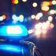 Lampeggiante macchina Polizia di Stato