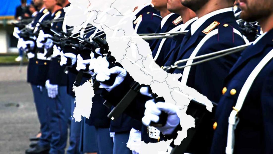Trasferimento polizia in Italia