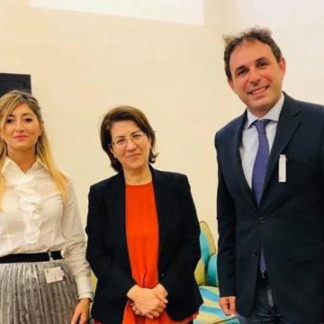 Il Segretario Nazionale LeS con la Senatrice Rosa Silvana Abate