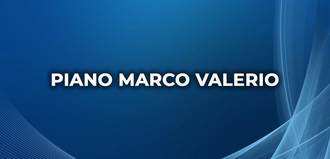 Piano Marco Valerio, Commissione, inizio lavori 19-23 ottobre 2020. ALLE OO.SS