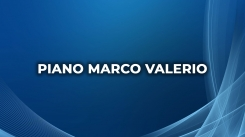 Piano Marco Valerio