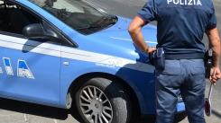 Polizia di Stato - posto di blocco