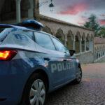Auto della Polizia di Stato a Torino