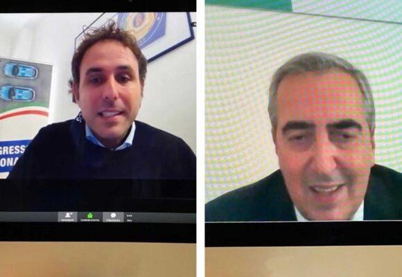 Info LeS: Incontro Giovanni Iacoi e Sen. Maurizio Gasparri
