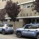 Questura di Cosenza - Macchine della Polizia di Stato all'ingresso