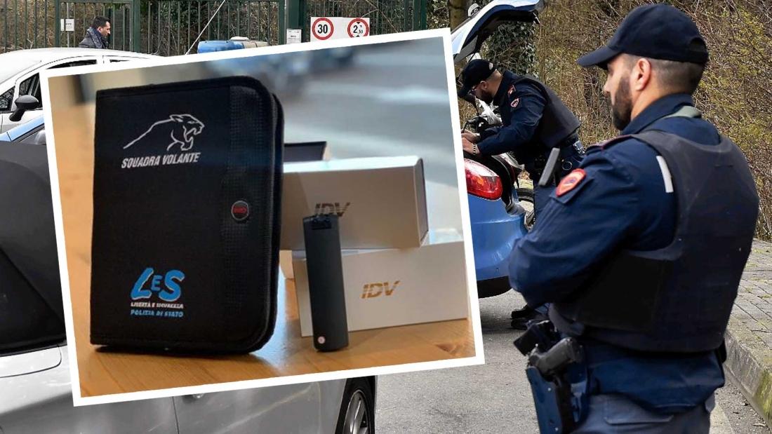LeS consegna bodycam