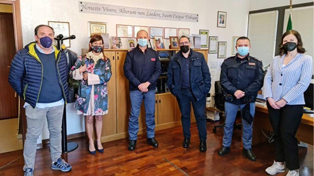 Donazione mascherine FFP2 Lazio
