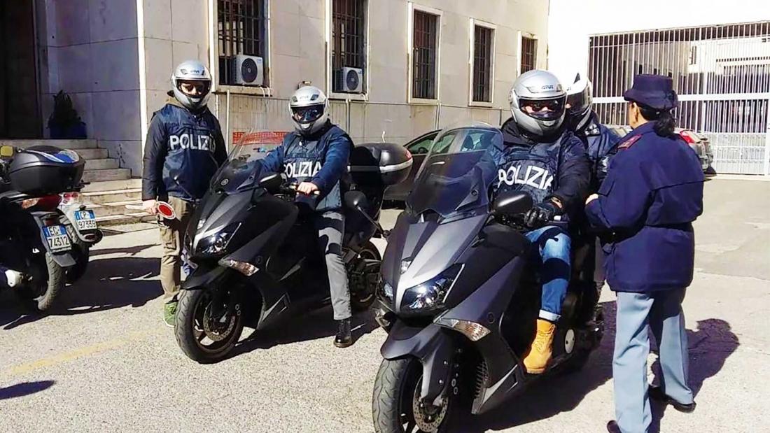 Casco per i Falchi a Napoli