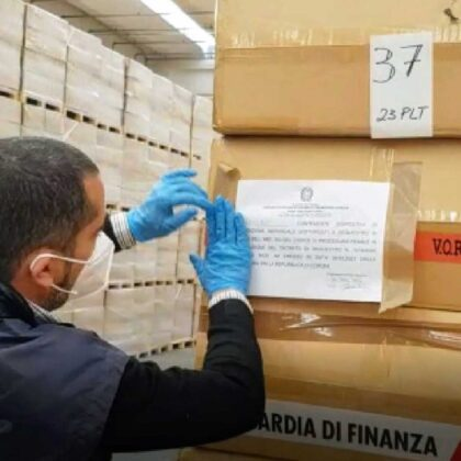 Sequestro DPI - Richiesta verifica