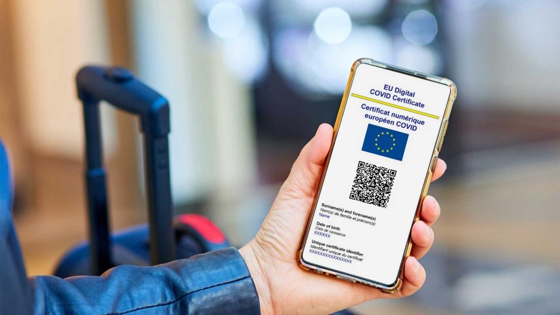 EU Digital Covid Certificate - Green Pass