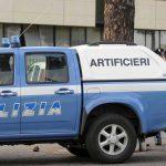 Mezzo artificieri Polizia di Stato